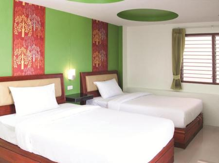 Superior Twin City View Krabi Orchid Hometel