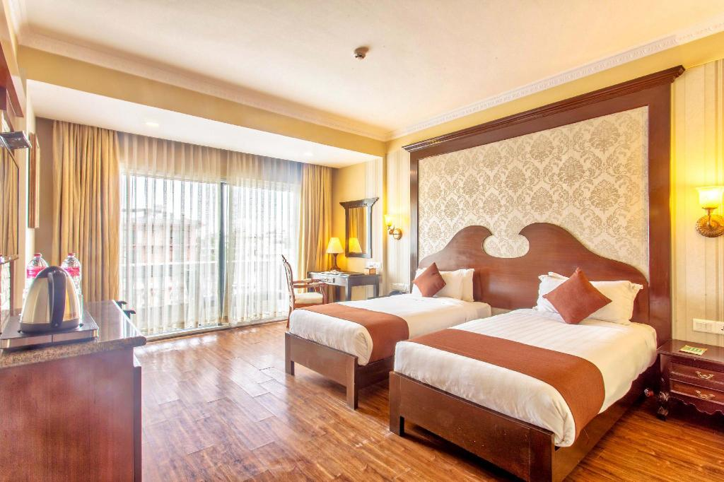 Deluxe Twin Room Da Yatra Courtyard Hotel & Resort
