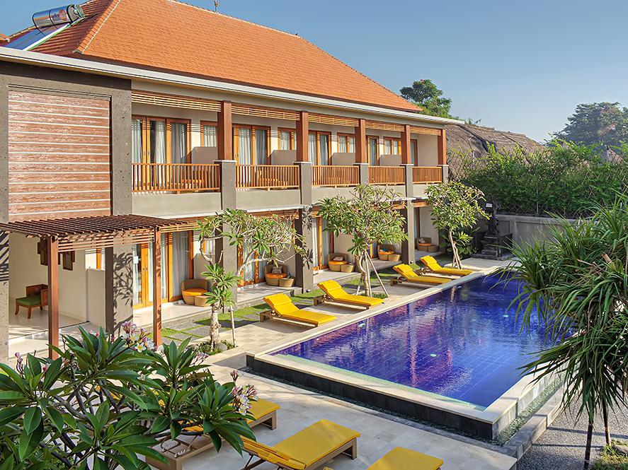 Room with Pool Side with Pool View(cempaka)