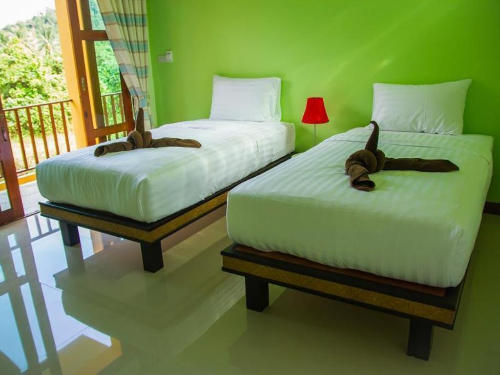 Twin Bed Room I-Style Lanta Boutique House