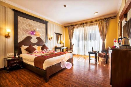 Deluxe Double Room - Bedroom Da Yatra Courtyard Hotel & Resort