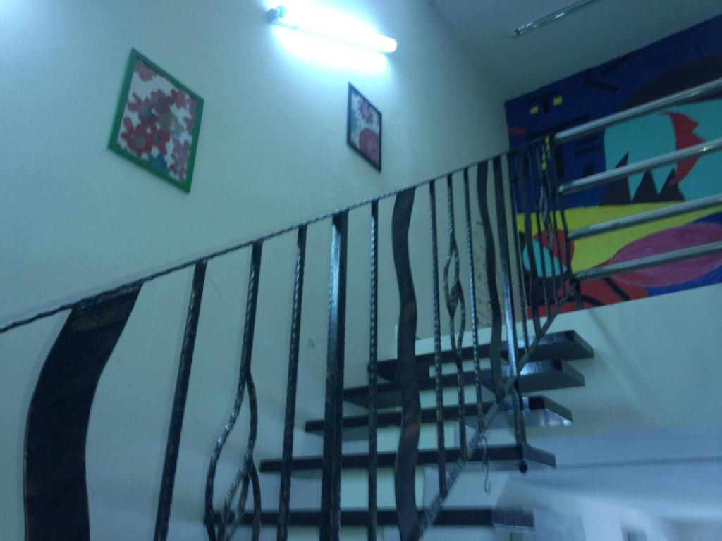 Hotellet indefra Seven Guesthouse