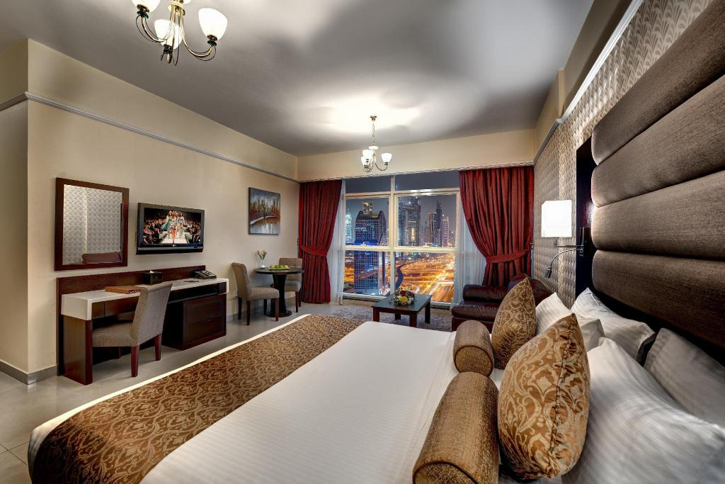 Best Price on Emirates Grand Hotel Apartments in Dubai