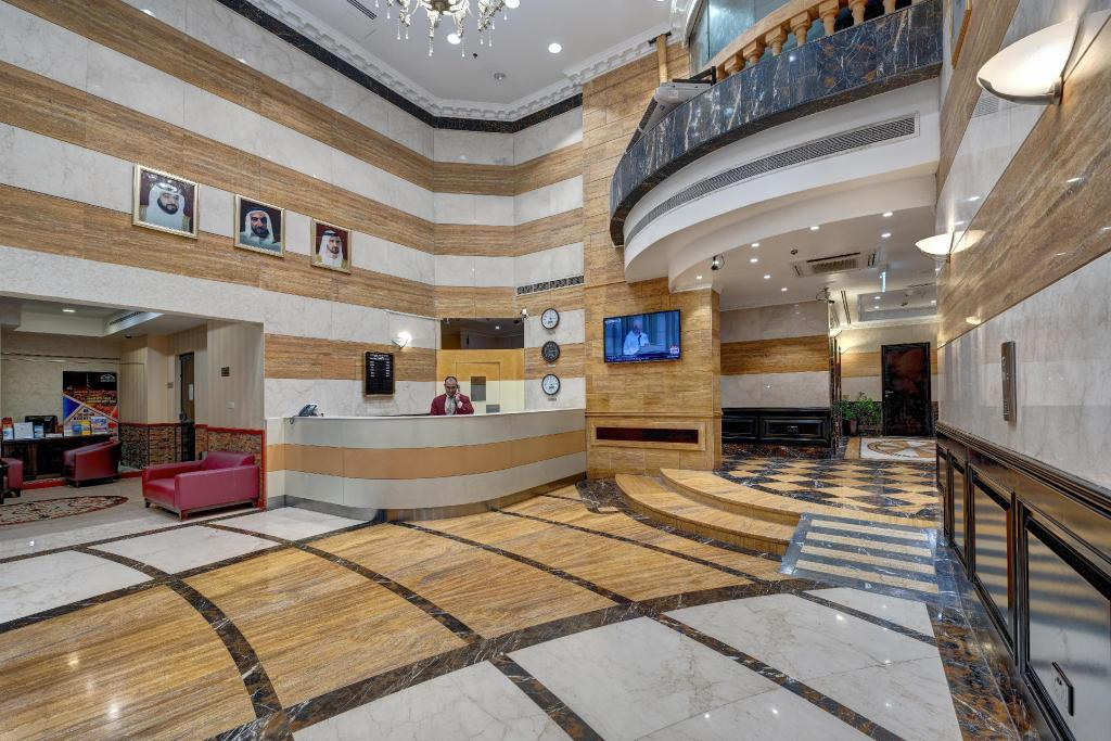 Lobby Emirates Grand Hotel Apartments