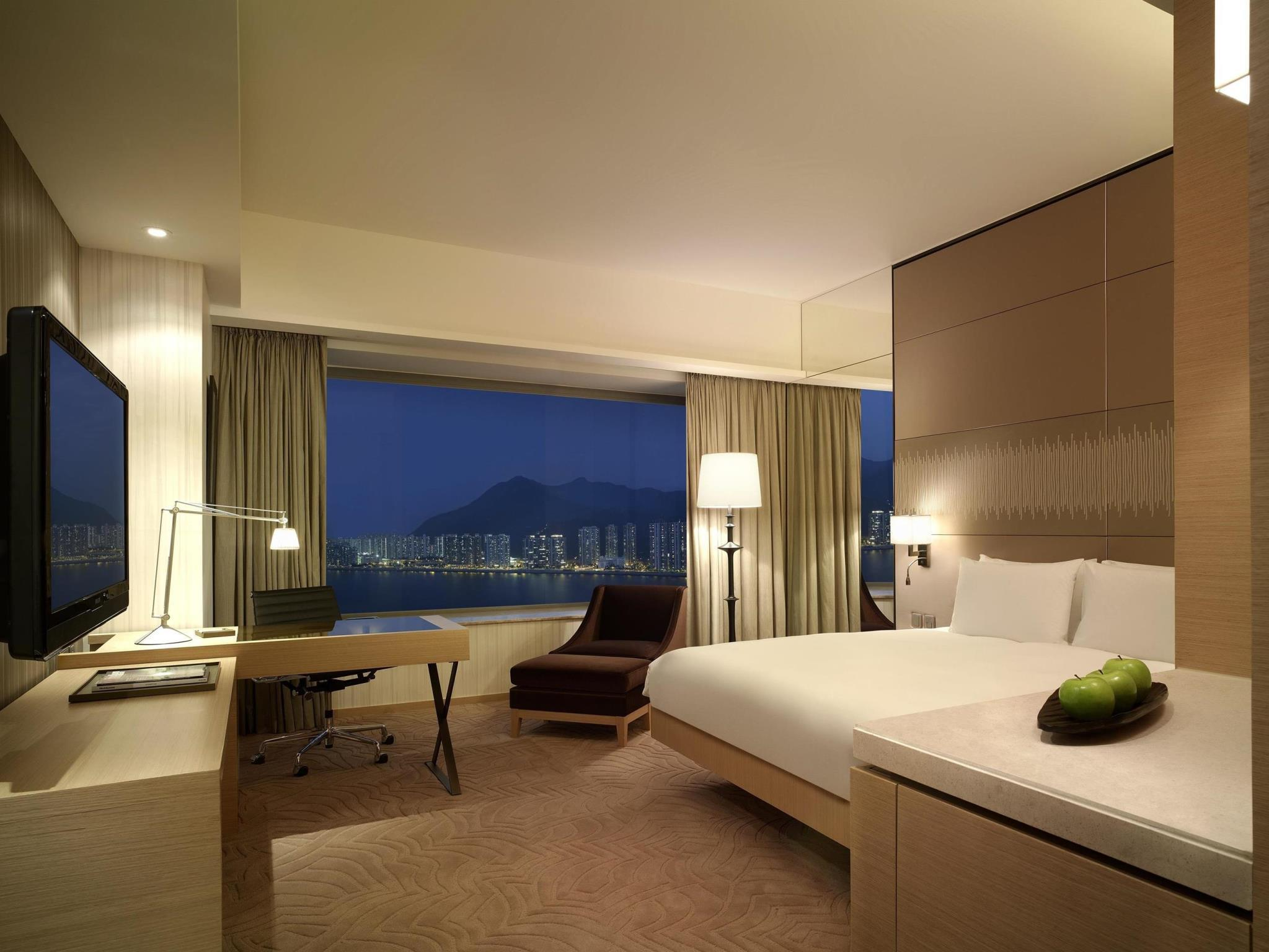 Kamar Club dengan Kasur King dan Pemandangan Pelabuhan (Club Harbour View Room with King Bed)