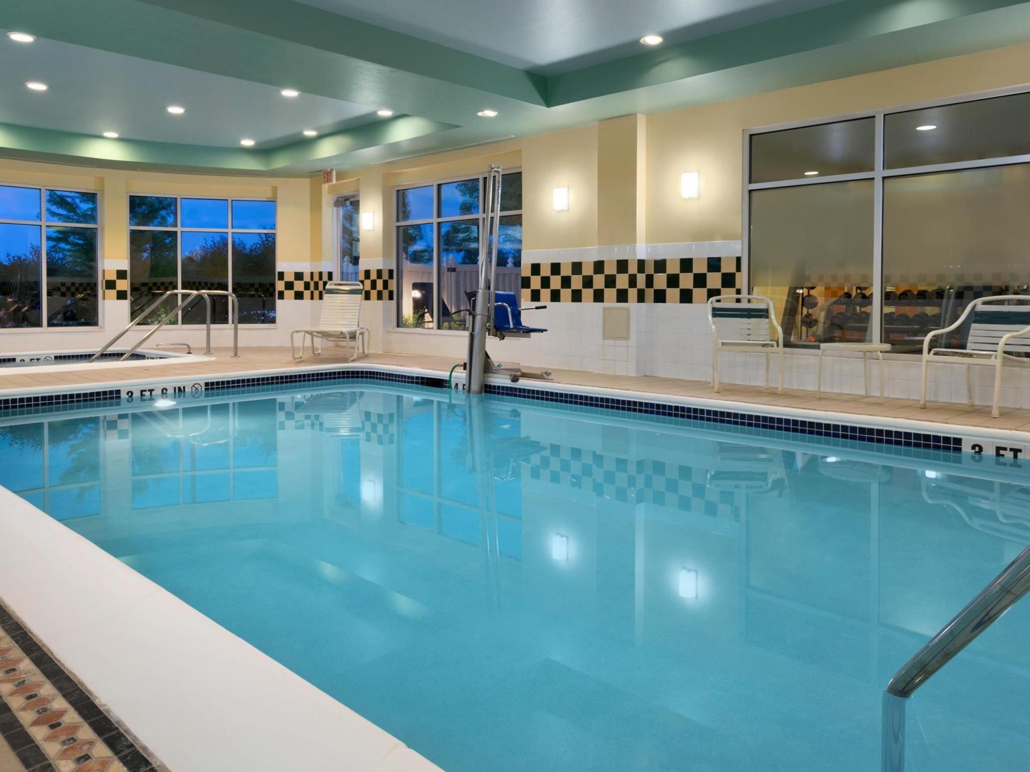Perfect Swimming Pool Hilton Garden Inn Wilkes Barre