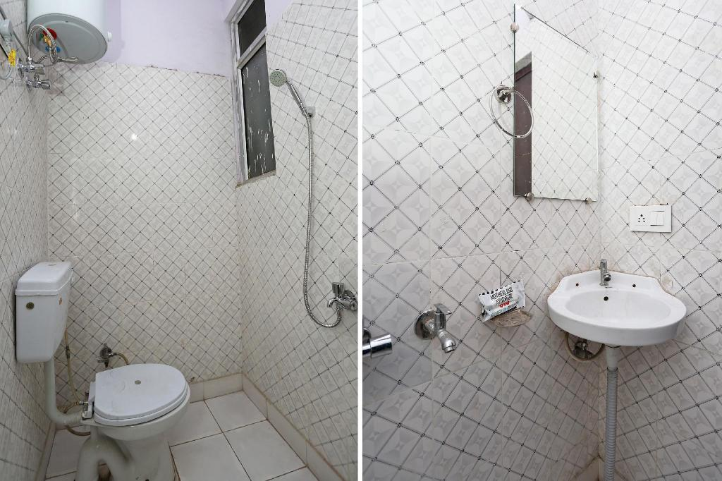 Classic Double or Twin - Bathroom OYO 40010 Mannat Residency