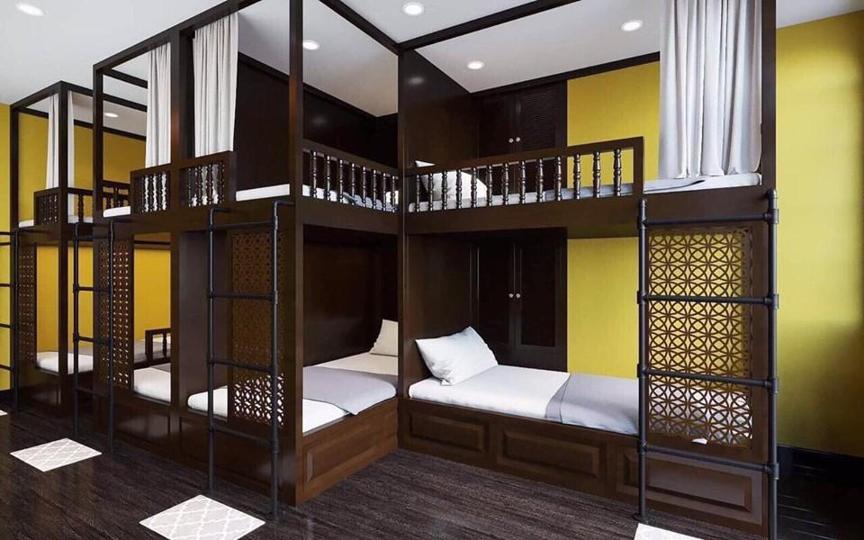 Private Room for 8 People with 4 Bunk Beds