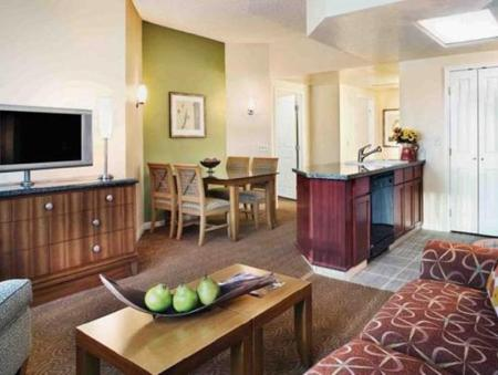 1 Bedroom King Suite Hilton Grand Vacations at the Flamingo