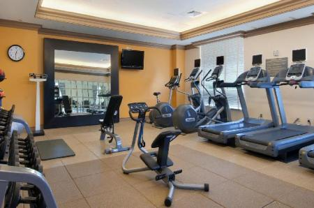 Fitnesa centrs Hilton Columbus at Easton Hotel