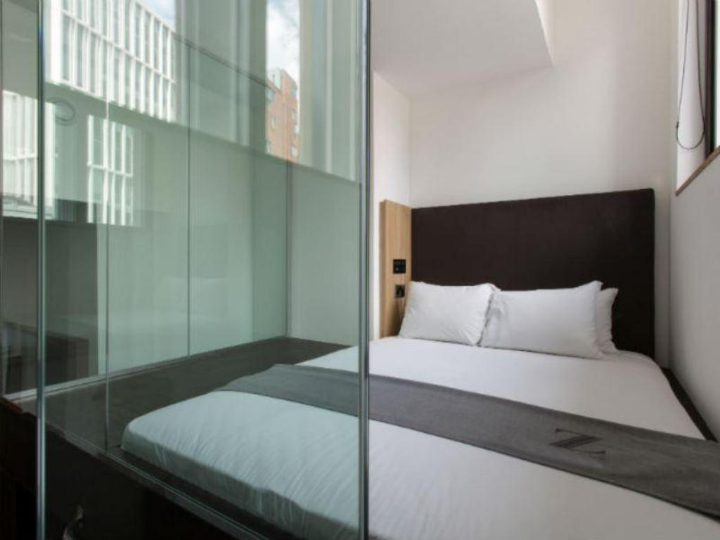 Interior view The Z Hotel Shoreditch