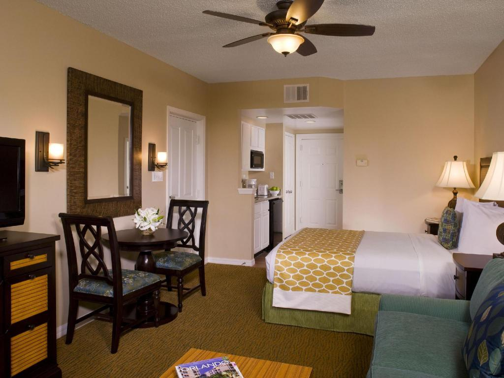 1 King Bed Studio - Guestroom Hilton Grand Vacations at SeaWorld