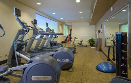 Fitness center Embassy Suites Chicago O'Hare Rosemont Hotel
