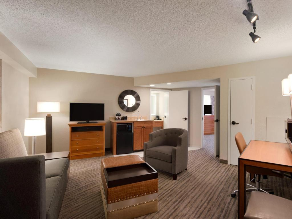 Pemandangan dalam Embassy Suites Hotel Orlando International Drive Jamaican Court