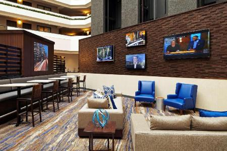 Interior view Embassy Suites Hotel Los Angeles International Airport North