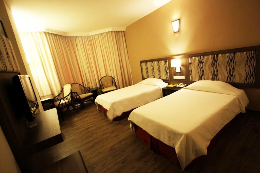 Superior Room - Room plan Kuching Park Hotel