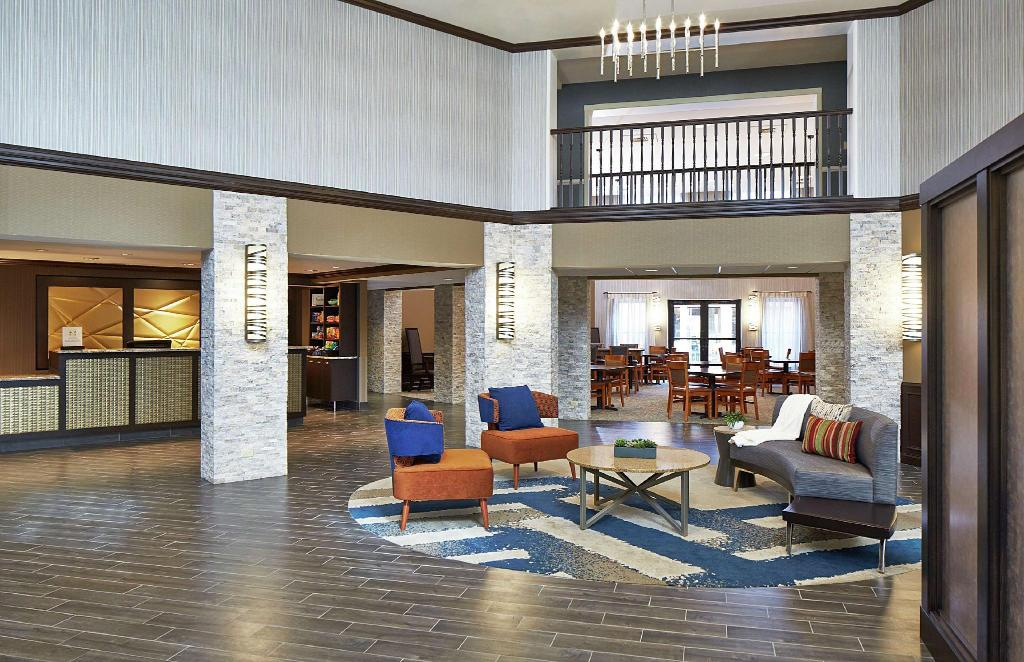 Lobby Homewood Suites By Hilton Chicago Lincolnshire Hotel
