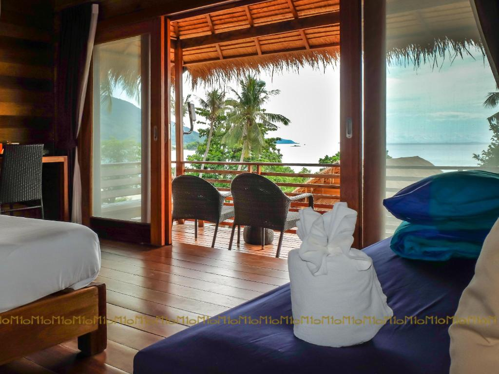 Interior view Ten Moons Lipe Resort