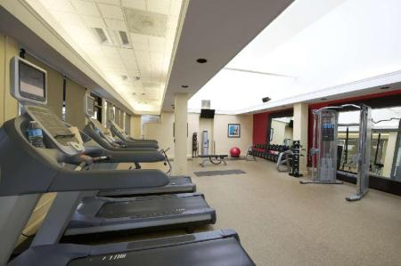Fitness center Hilton Garden Inn San Francisco - Oakland Bay Bridge Hotel