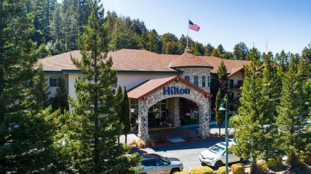 Hilton Santa Cruz Scotts Valley Hotel In Scotts Valley Ca