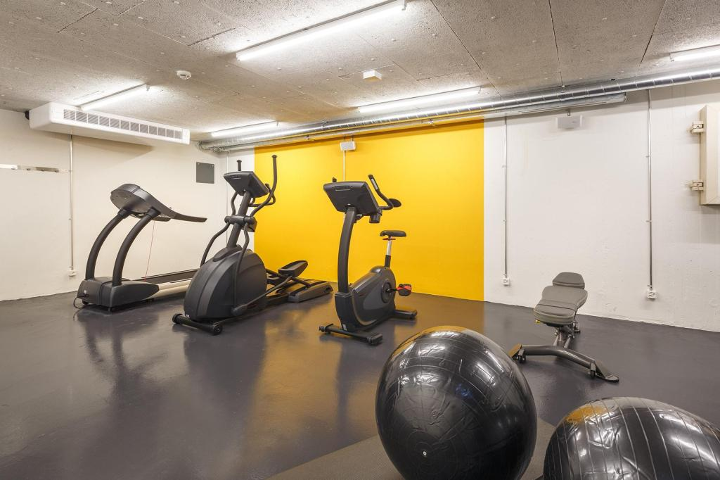 Fitness center Hotel Zuri by Fassbind