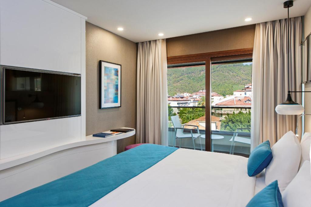 Deluxe City View - Bathroom Elite World Marmaris Hotel (Adult Only)