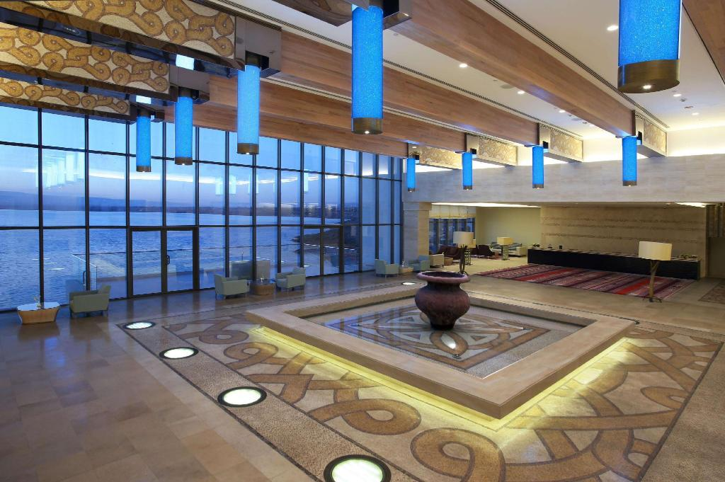 Lobby Hilton Dead Sea Resort & Spa