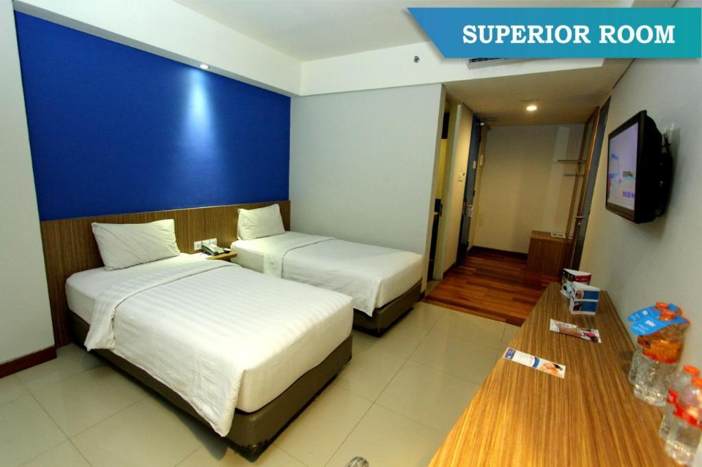 Superior Room - Twin bed Fabu Hotel Bandung