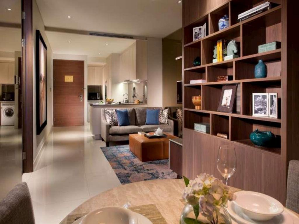 Interiér Ascott Waterplace Surabaya