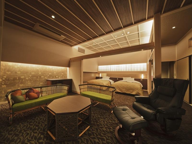 Deluxe Suite with Tatami and Open-Air Bath - Adult Only