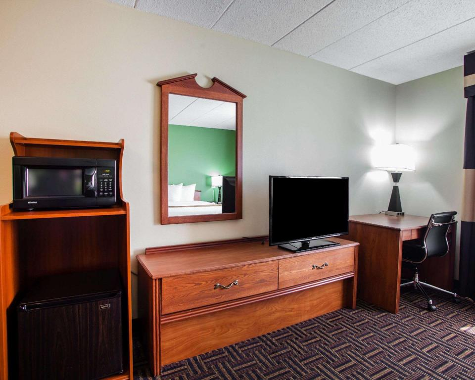 1 King Bed - Non - Smoking Quality Inn Bollingbrook I-55