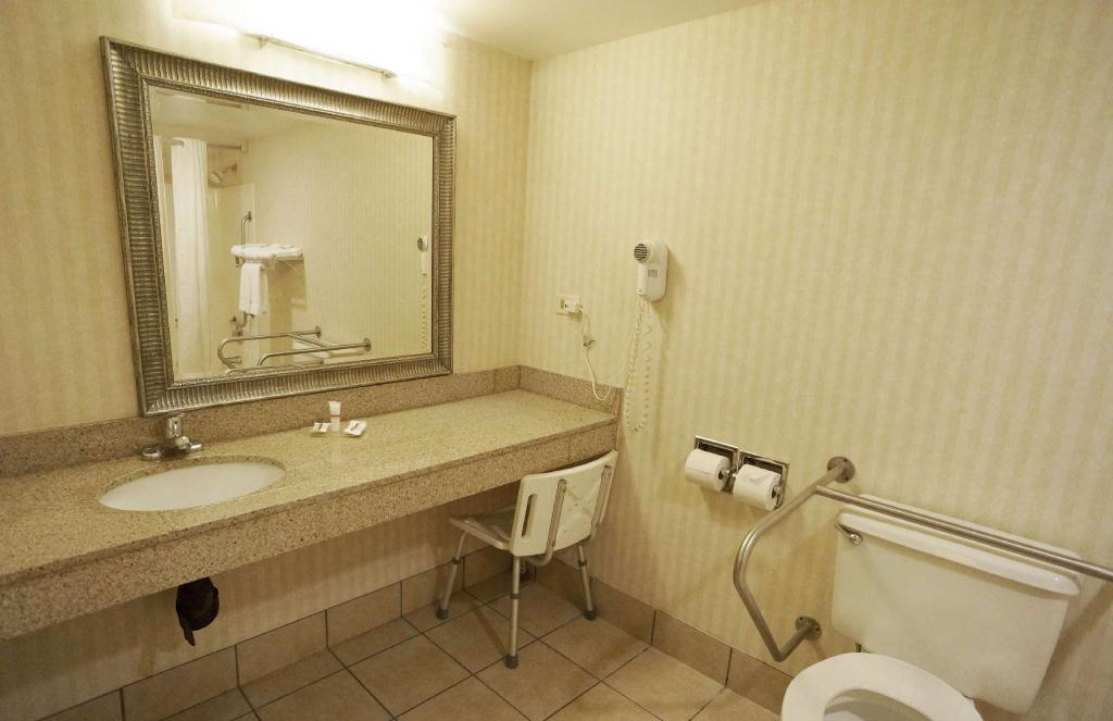 ADA Accessible Deluxe King Non-Smoking Red Roof Inn Gurnee - Waukegan