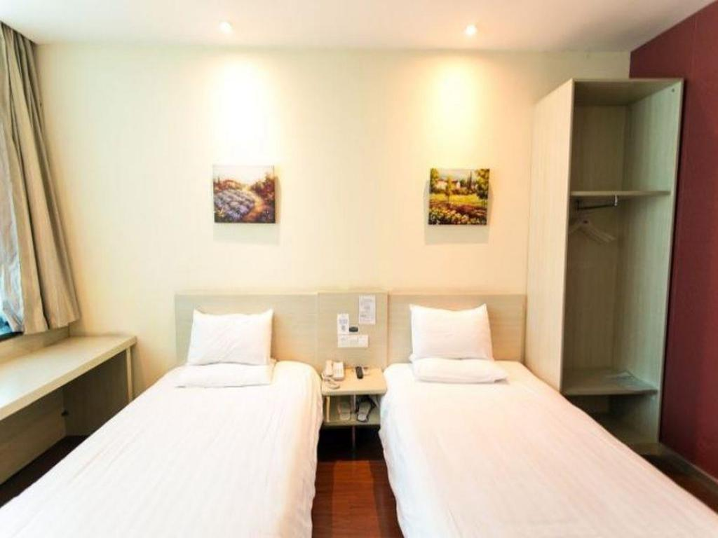 Twin Room A Hanting Hotel Suzhou Zhuhui Road Branch