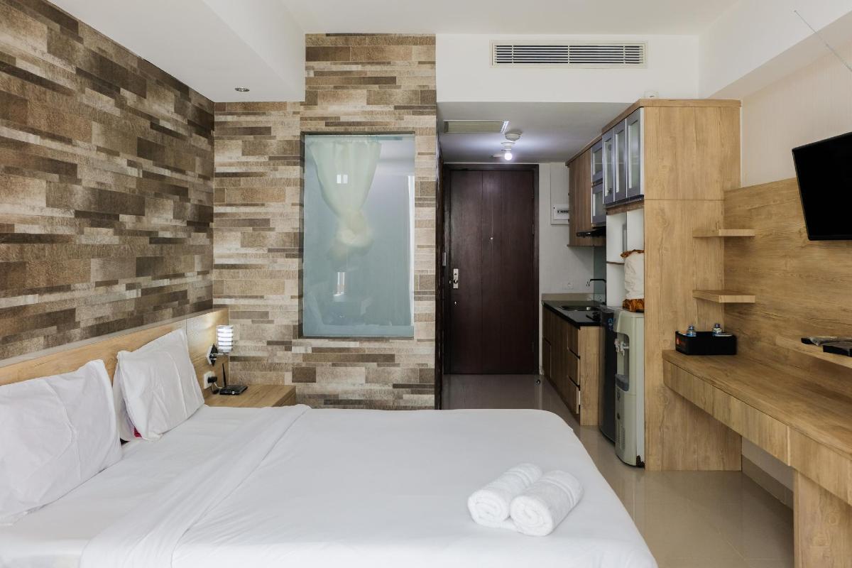 Apartemen Studio 25 M Dengan 1 Kamar Mandi Pribadi Di Karawaci Studio Apt At U Residence Karawaci By Travelio Tangerang Indonesia Agoda Com