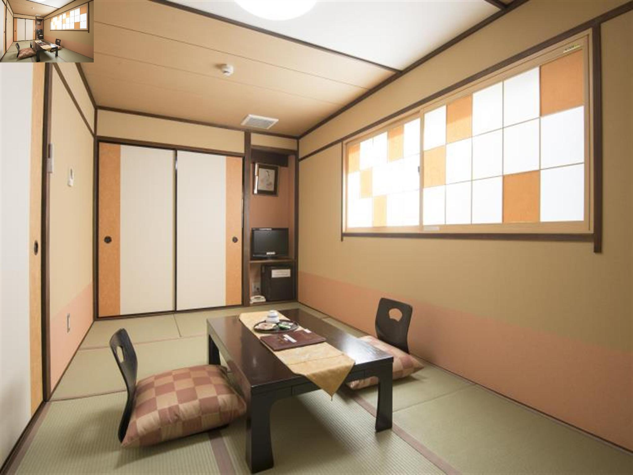 日式客房 - 有衛浴/小 (Japanese Room with Bathroom (Small))