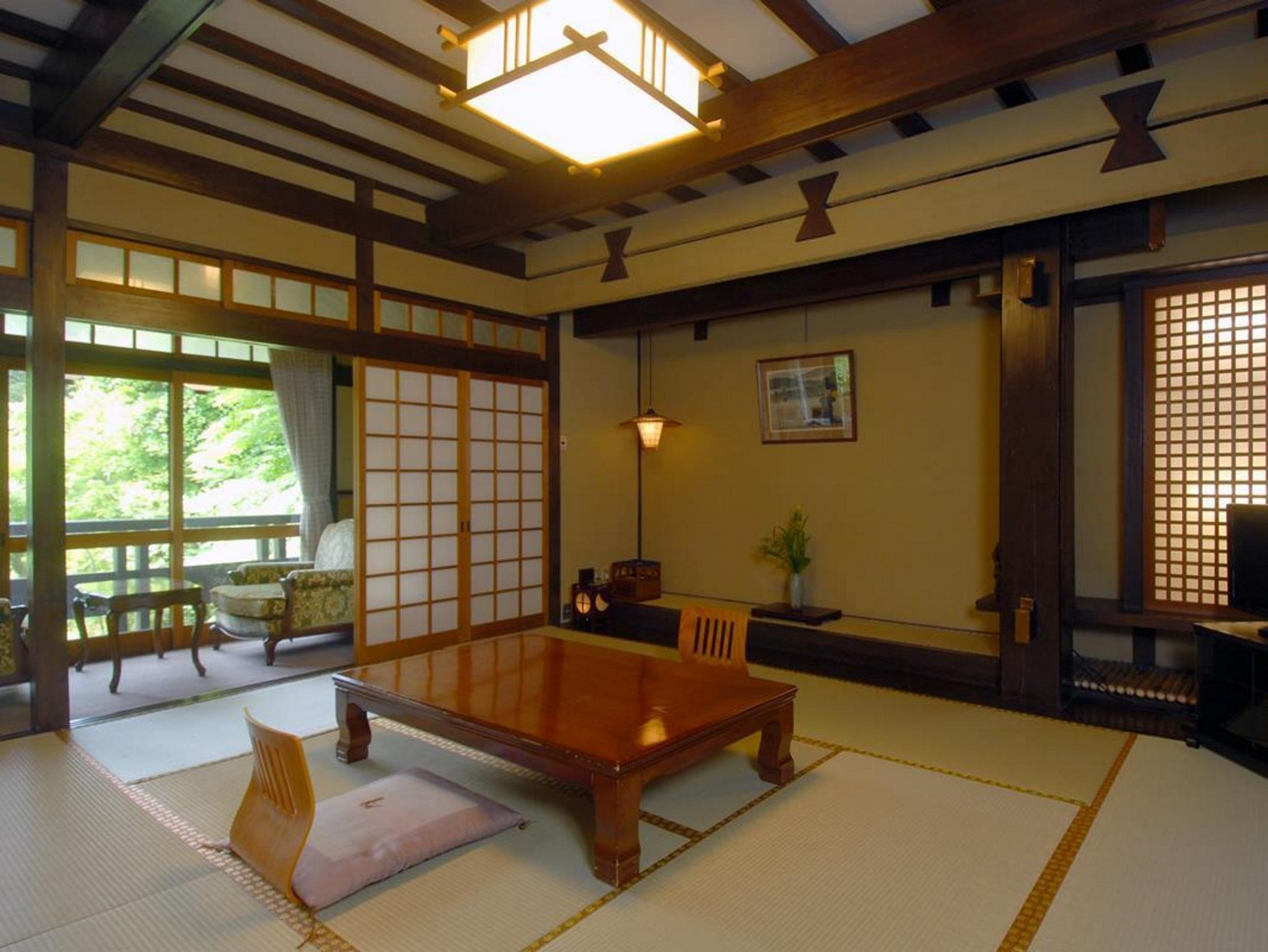 Japanese Style with Shared Bathroom