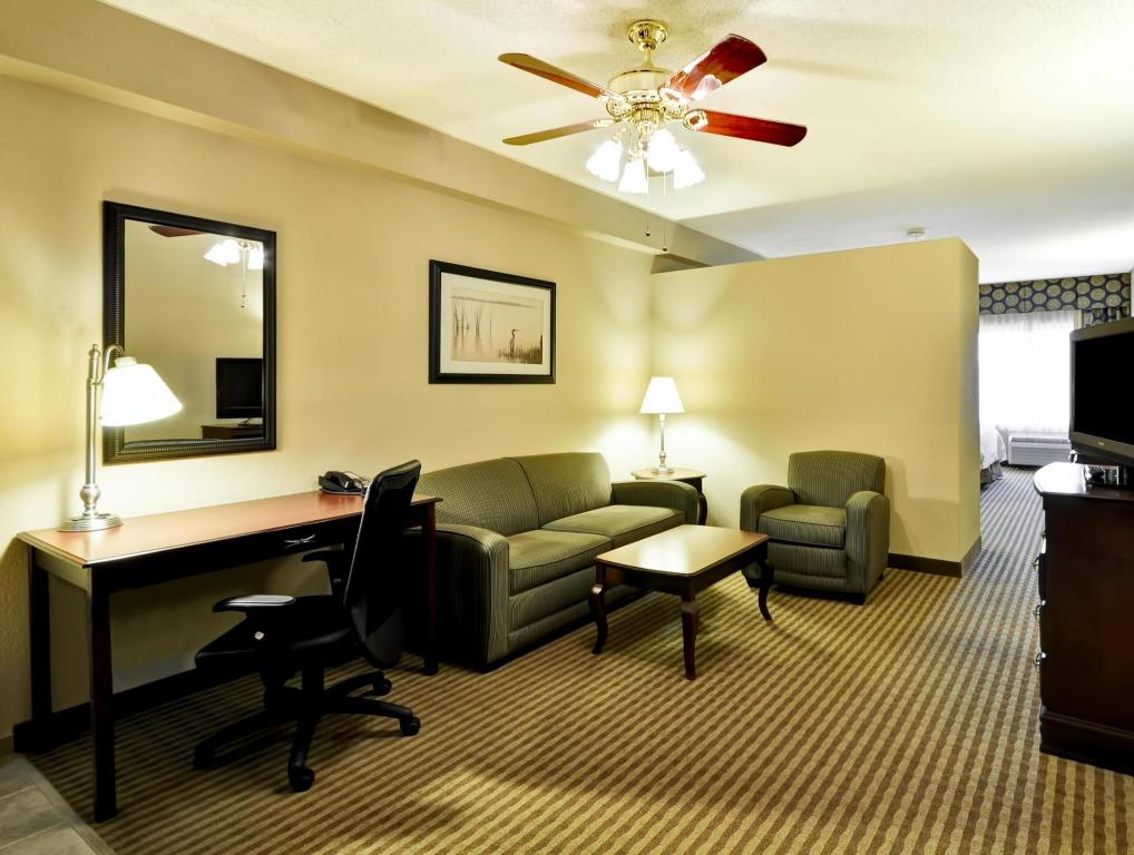 Vista Interior Hampton Inn Palm Beach Gardens Hotel