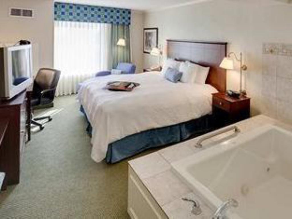 1 King with Whirlpool Non-Smoking - Guestroom Hampton Inn South Plainfield-Piscataway NJ Hotel