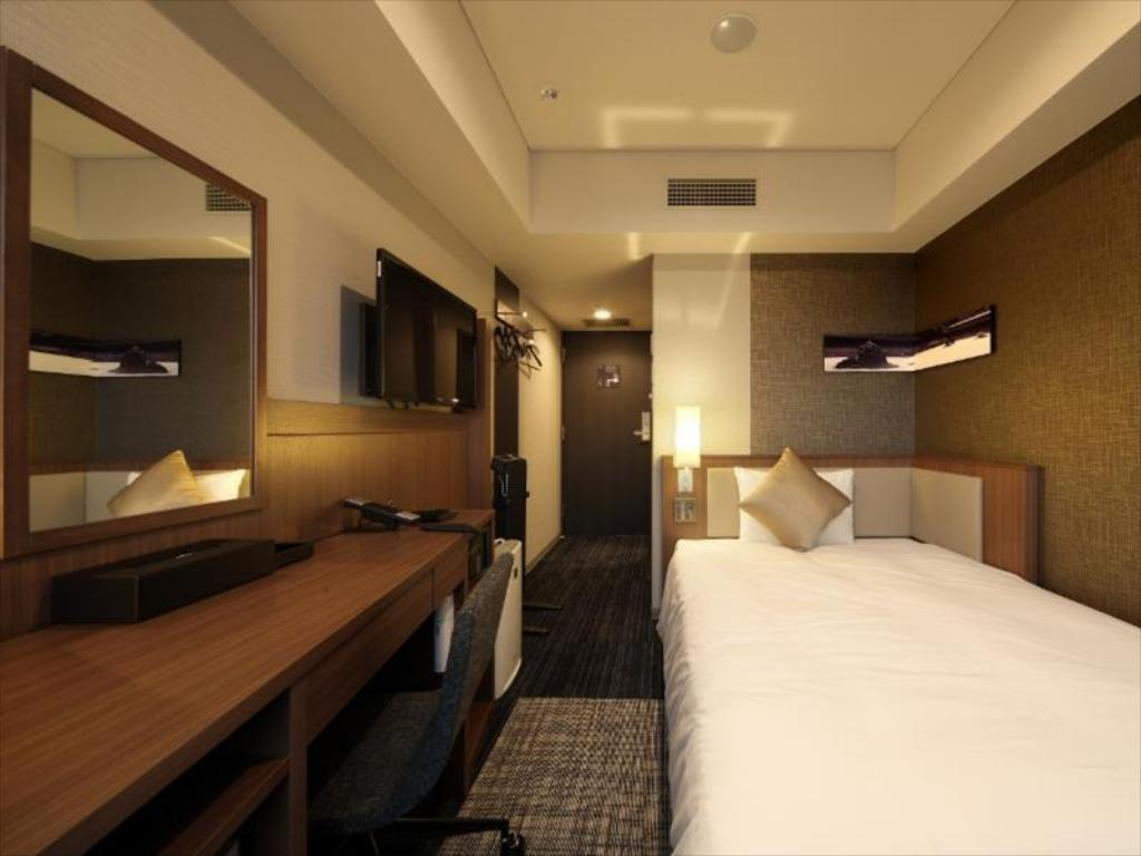 Single Room Non-Smoking - Room plan HOTEL UNIZO Kyoto Shijo Karasuma