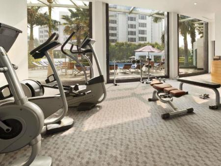 Fitness center Ramada Plaza JHV Hotel