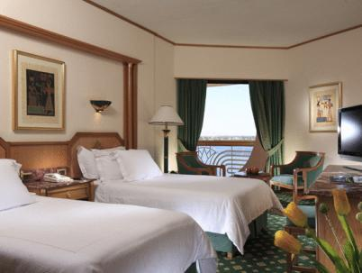 Deluxe Double or Twin Room with Side Nile View