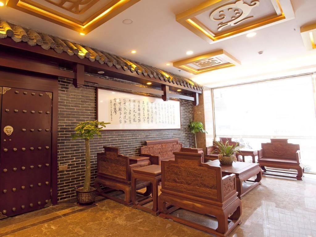Interior view Telecom Hotel Guilin