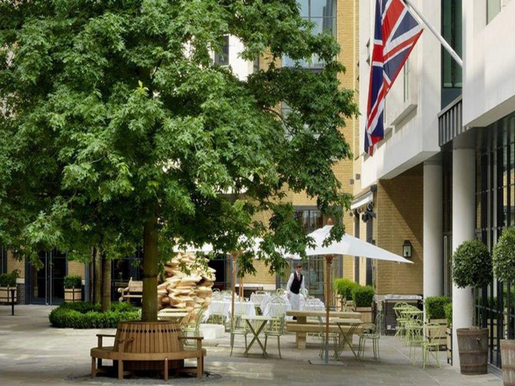Exterior view Ham Yard Hotel, Firmdale Hotels