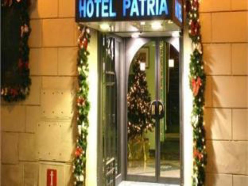 Inngang Hotel Patria