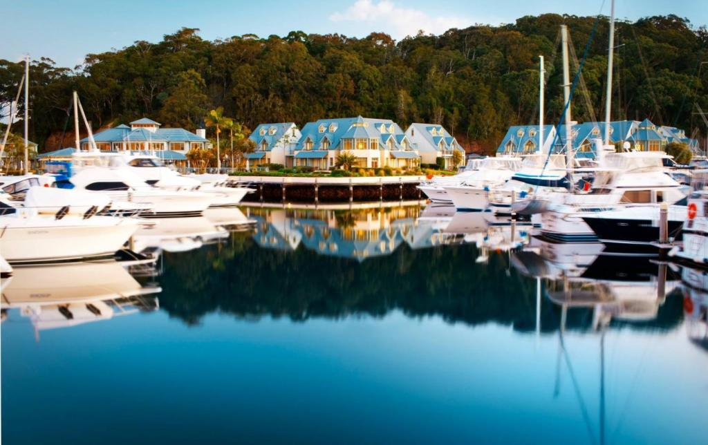 غرفة جاردن أنتشوراج بورت ستيفينز (Anchorage Port Stephens)