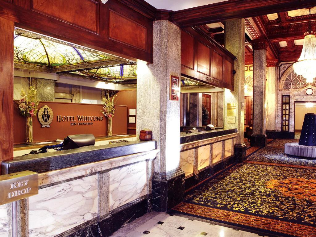 Interior view Hotel Whitcomb