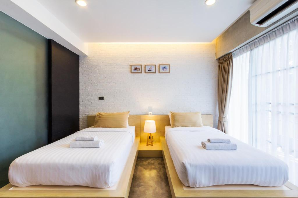 Standard Twin Zzziesta Chaing Mai Bed & Breakfast