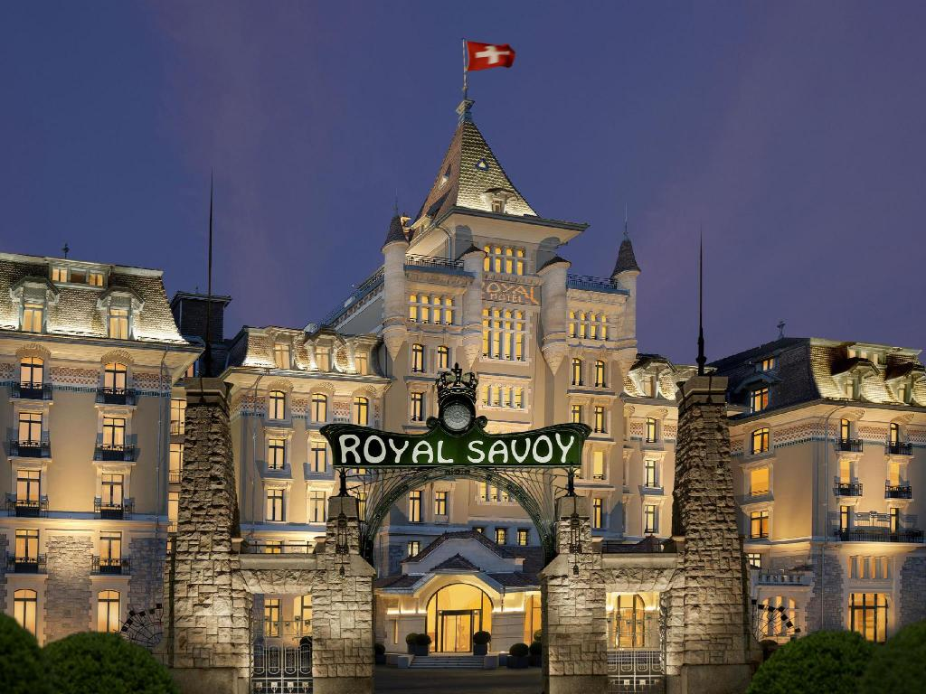 hotel royal savoy lausanne in switzerland pictures. Black Bedroom Furniture Sets. Home Design Ideas