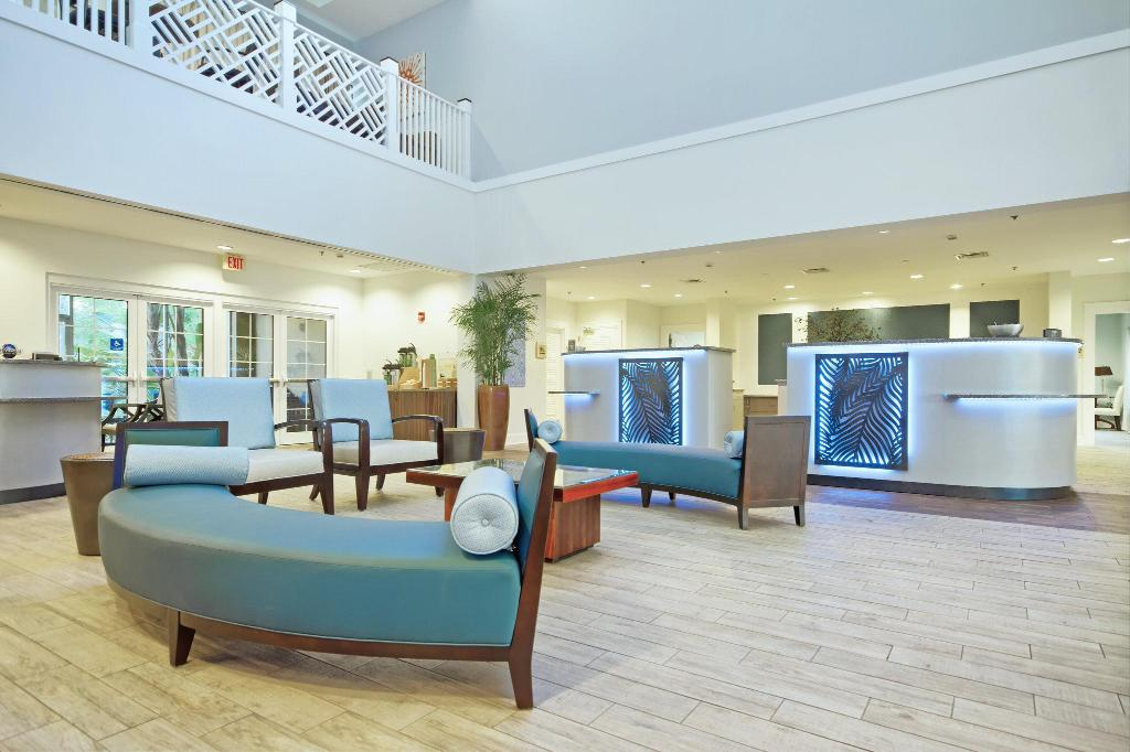 Lobby Club Wyndham Cypress Palms