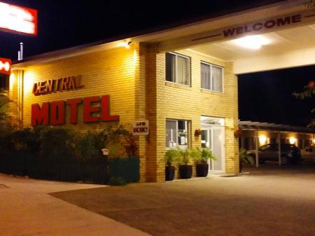 Inngang Nambour Central Motel